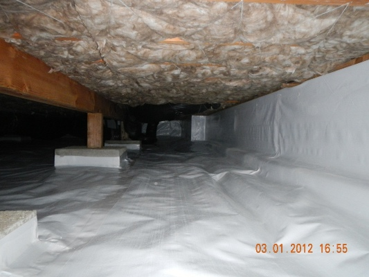 Click to find out more about Where is the water in my crawl space coming from?